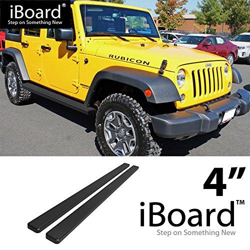 - Off Roader for 2007-2018 Jeep Wrangler JK Sport Utility 4-Door (Nerf Bar | Side Steps) 4