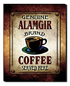 Alamgir's Coffee Gallery Wrapped Canvas Print