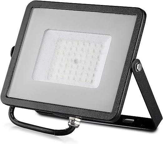 V-TAC VT-20 20W LED A++ Negro Proyector - Proyectores (20 W, LED ...