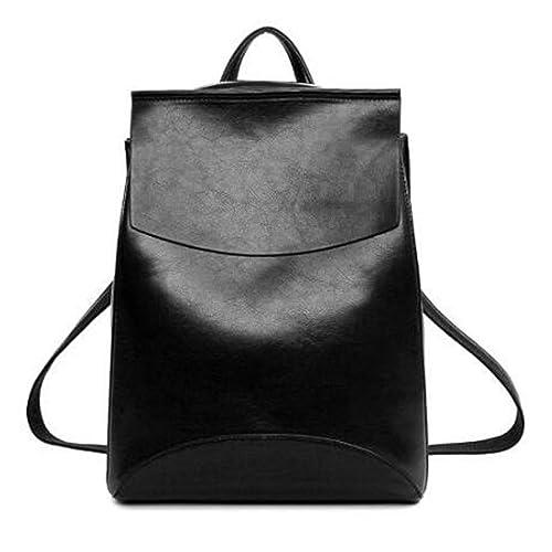 ca5813ba3bd6 bahu Spanish Brand New Design Pu Women Leather Backpacks School Bag Student Backpack  Ladies Women Bags