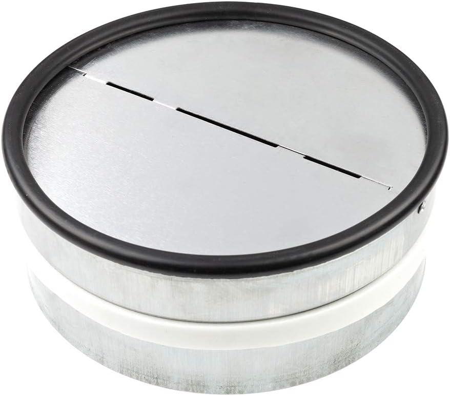 neverest RKI 150 mm - Válvula Antirretorno Reduce el Ruido y Evita el Aire Frío por Tubo de Ventilación
