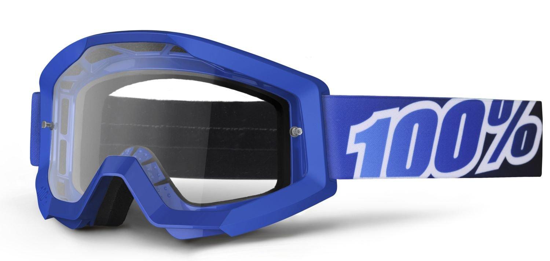 100% Fahrerbrille The Strata Blue Lagoon - klar
