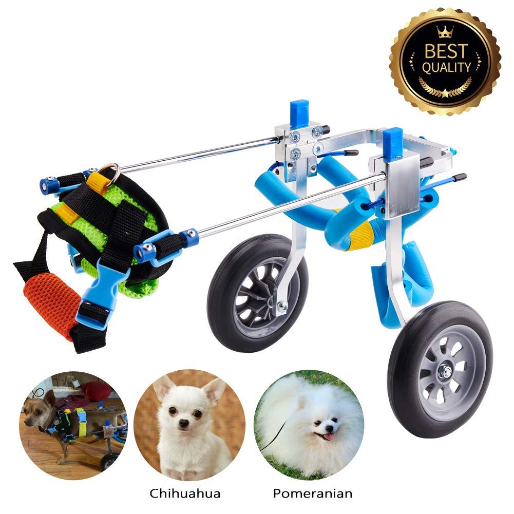 Silla De Ruedas Carrito Discapacitados Perros- Muy Pequeños