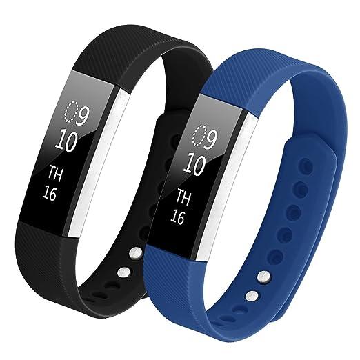 15 opinioni per Bepack Fitbit Alta HR Cinturino,TPU Molle Silicone Regolabili Braccialetto Banda