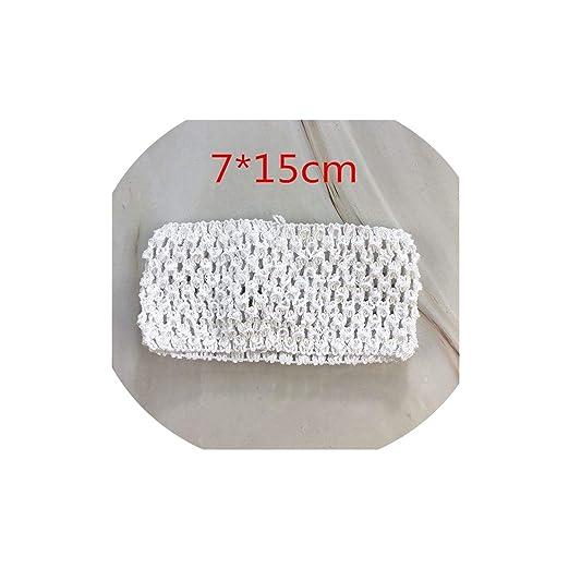 Aisha-Shop Tul Rollo 5 cm 25 Yardas de Tela de la Falda de Organza ...