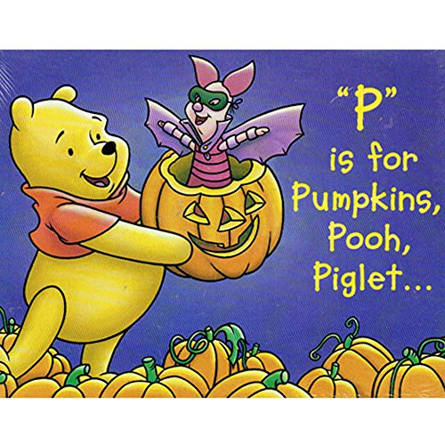 Winnie the Pooh Halloween 'P is for Pumpkins' Invitations w/ Envelopes (8ct)]()