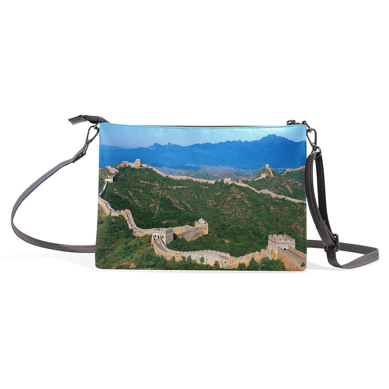 LEEZONE Great Wall Printing Lady Multipurpose Cute Single Shoulder Bag