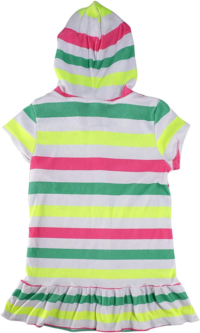iDrawl Hooded Towels for Kids Rainbow Striped Swimming Towel Beach Towels for Girls Kids Age 8 to 16