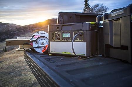 Amazon.com: Goal Zero Yeti 1400 Lithium Portable Power Station, 1425Wh Gas-Free Generator Alternative with 1500W (3000W Surge) Pure Sine Wave Inverter, ...