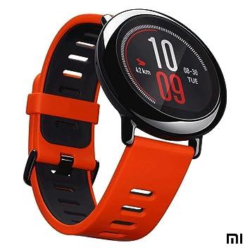 Xiaomi AMAZFIT Pace - Smartwatch con GPS Multideporte 1.34 Táctil, GPS y Bluetooth, Monitor de Ritmo Cardíaco, Reproduce música sin Móvil, (Versión ...