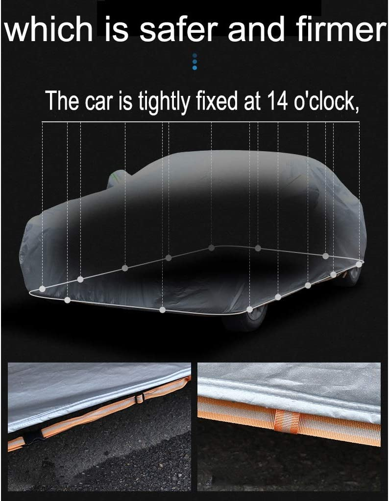Autoabdeckung Car-Cover Kompatibel mit Mercedes Mercedes SLK Serie atmungsaktive wasserdichte Car Cover Regenschutz Sonnenschutz UV-Schutz Staubdichtes Outdoor Indoor Car Cover