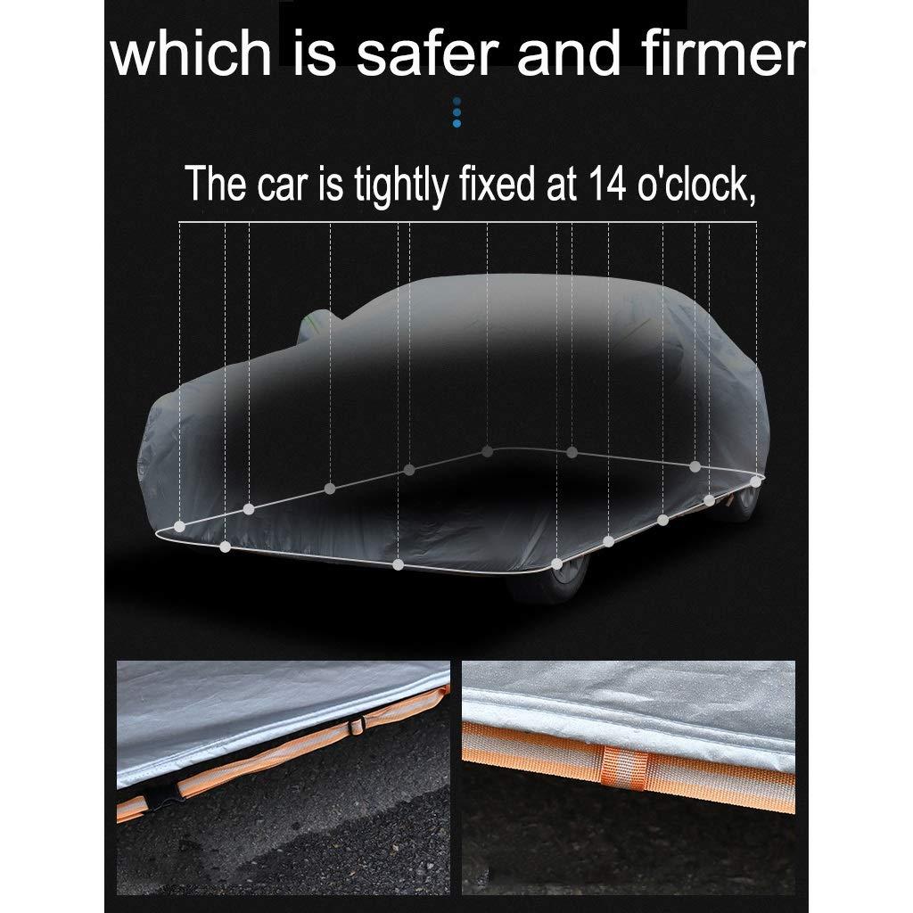 Housses pour auto Compatible avec la couverture de voiture de Renault Talisman la b/âche de protection solaire la couverture de voiture imperm/éable de couverture de corps de logo personnalis/é de couver