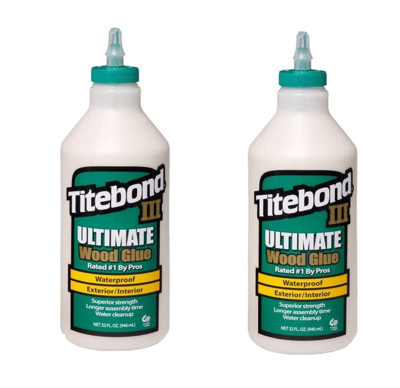 Titebond 1415 III Ultimate Wood Glue, 32-Ounce Bottle, 2 Pack by Titebond (Image #1)