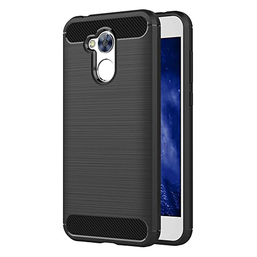 44 opinioni per Cover Honor 6A, AICEK Nero Custodia Huawei Honor 6A Silicone Molle Black Cover