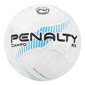 ab9aadc9a Bola de Futebol Campo Penalty Rx Fusion Viii - Branco+azul - Único ...