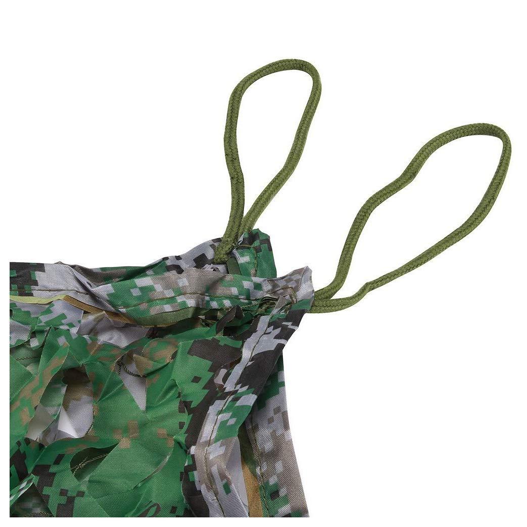 55M(16.416.4ft) Filet de Camouflage Filet d Ombrage 3x5m Tissu Oxford de Tente de Filet de Camouflage d'ombrage Net de Filet pour la Chasse de DéguiseHommest de Peau Tirant Grand Jardin 3x5m Vert