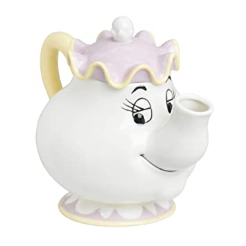 Amazoncom Sunart Disney Beauty And The Beast Mrs Potts Tea Pot