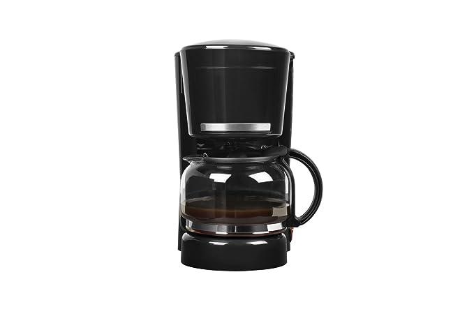 Medion MD 17229 - Cafetera eléctrica, capacidad de 1.25 litros, 870 vatios de potencia, 10 tazas de café, antigoteo, color negra: Amazon.es: Hogar