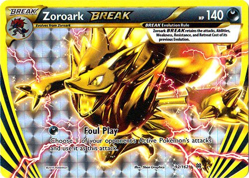 Pokemon - Zoroark-Break (92/162) - XY -
