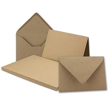 DIN A6 // C6-14,8 x 10,5 cm FarbenFroh/® von Gustav NEUSER/® 30x Faltkarten Set mit Brief-Umschl/ägen Zitronengelb Premium Qualit/ät