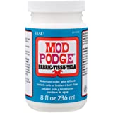 Mod Podge Waterbase Sealer, Glue and Finish for Fabric (8-Ounce), CS11218