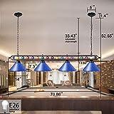 Wellmet Pool Table Light, 70 Inch LED Billiard