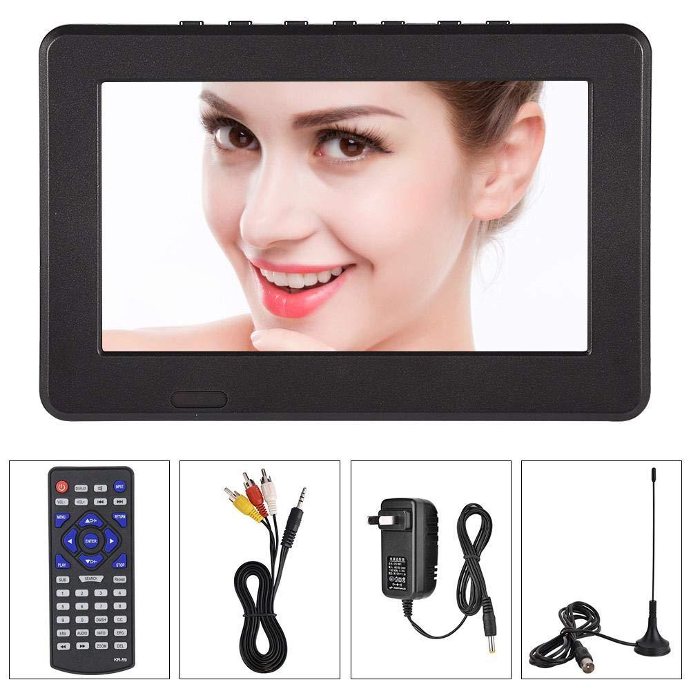 Pomya Portable Mini TV ATSC 7'' 9'' 10'' 12'' 16:9 Digital Television TV TFT LED 1080P HD HDMI Video Player (7 inch) by Pomya