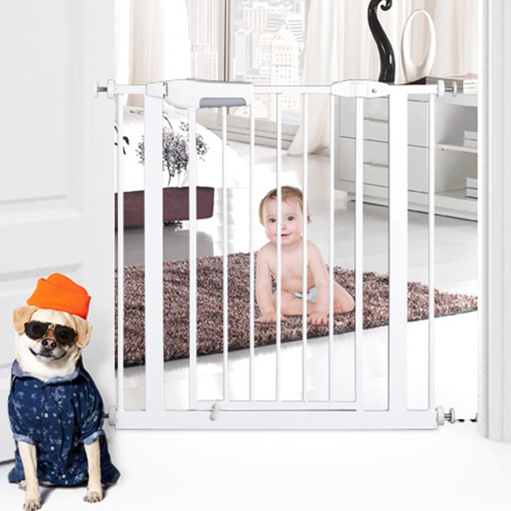 【テレビで話題】 赤ちゃんの出入口階段屋内ホールエクストラワイド猫の犬のドアの壁プロテクター75から146センチメートルワイドホワイトメタル ( サイズ さいず 85-96cm : 85-96cm ) ( 85-96cm 85-96cm B07CQN7SLM, ブランド古着の買取販売STAY246:b472b02f --- a0267596.xsph.ru