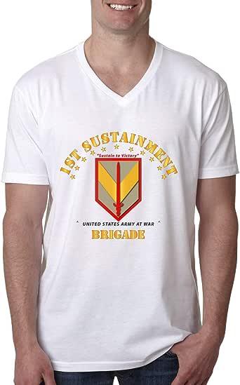 Amazon.com: Gjdv 1st Sustainment Brigade Men's V-Neck