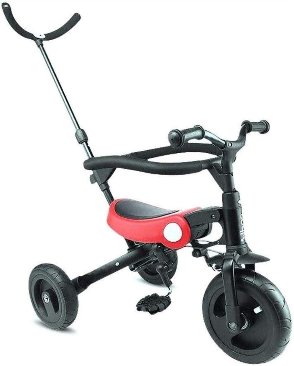 Sillas de paseo Del caballo mecedora de triciclos los niños de los niños del triciclo bicicleta de equilibrio conveniente for 1-3-5 de bebé de los años cochecito infantil de bicicletas Triple Carritos