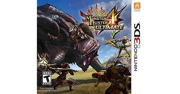 Amazon Com Monster Hunter  Ultimate Standard Edition Nintendo Ds Capcom U S A Inc Video Games