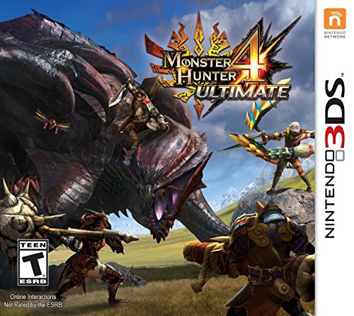 Monster Hunter 4 Ultimate Standard Edition – Nintendo 3DS