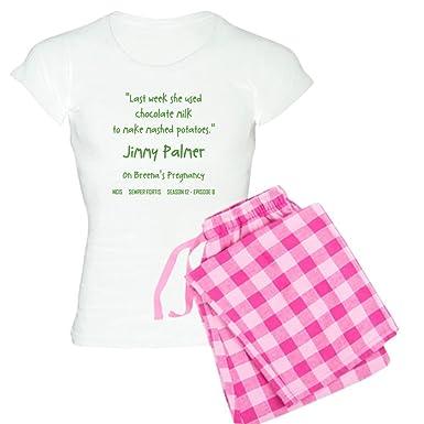 fc712a5f80c0 Amazon.com  CafePress - Chocolate Milk - Womens Novelty Cotton Pajama Set