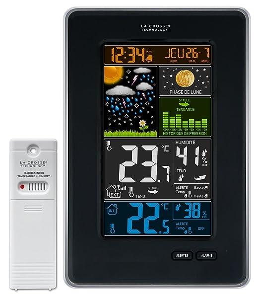 3 opinioni per La Crosse Technology WS6835-BLA- Stazione meteorologica con schermo a colori e