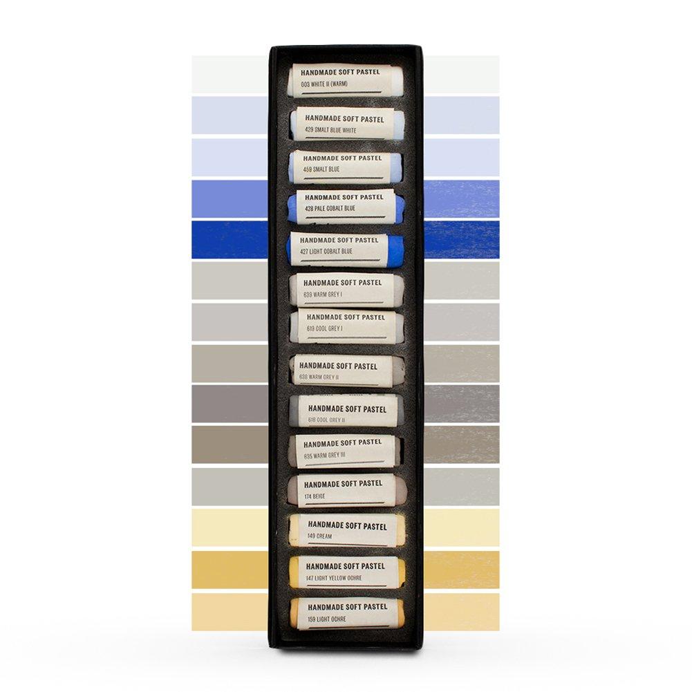 Jacksons : Handmade Soft Pastel : 14 Colours : Sky Set - Cloudy Jackson' s