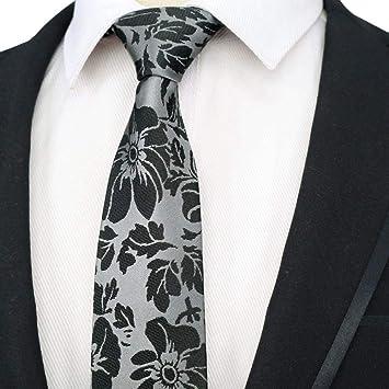 ZHAOSHUNAN Tie cravatta Corbata para Hombre Poliéster Varias Rayas ...