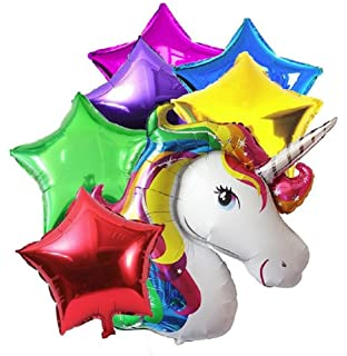 Unicorn Balloons For Birthday Party Decorations