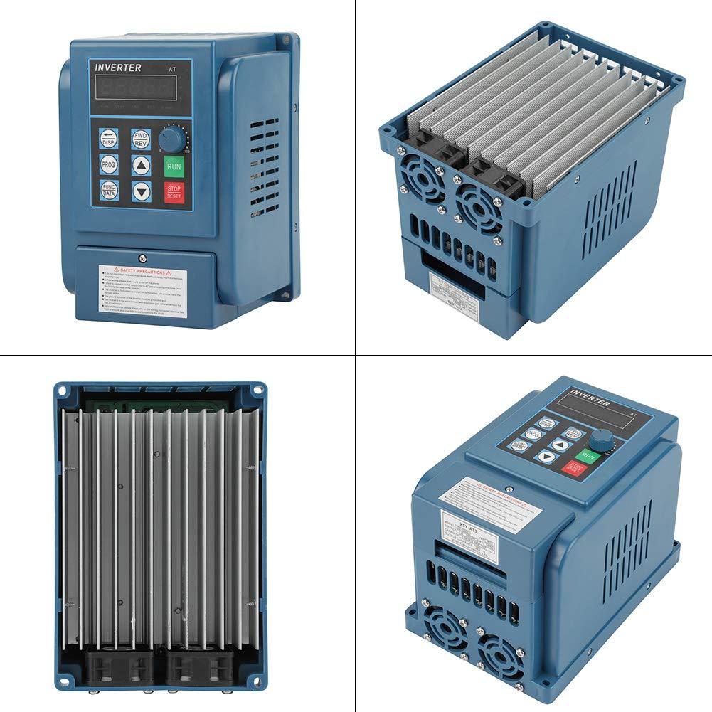 VFD Variateur de Fr/équence V//F Closed Loop et Contr/ôle PWM AC 380V 4KW 12A Inverseur Triphas/é Universel Convertisseur de Fr/équence avec Filtre Int/égr/é