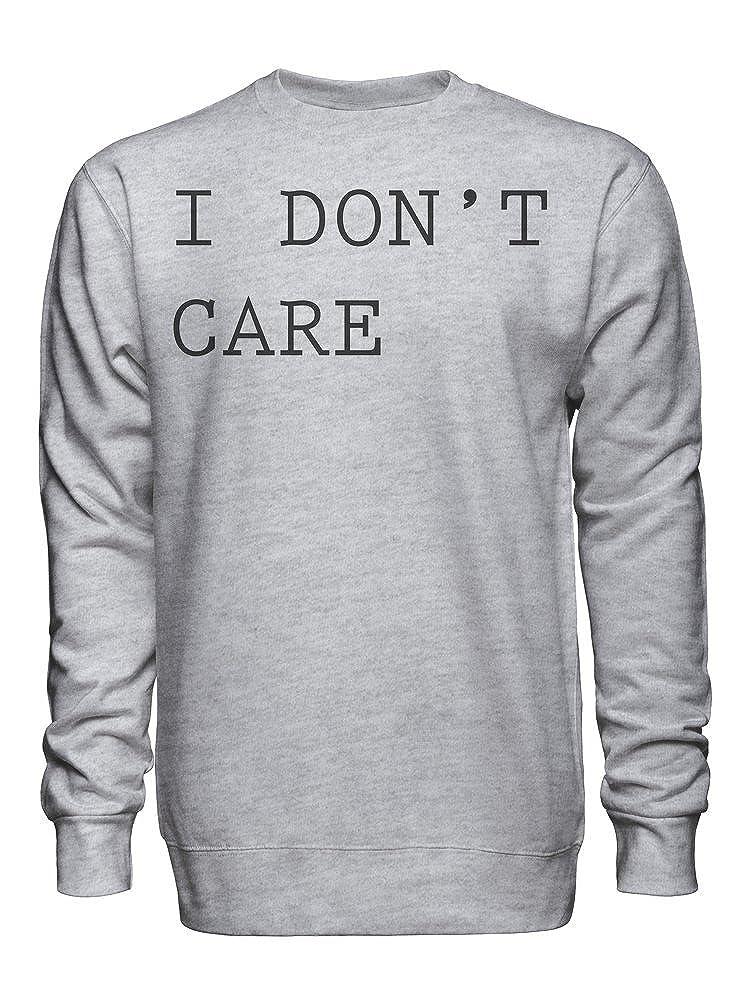 graphke I Dont Care 2 Unisex Crew Neck Sweatshirt