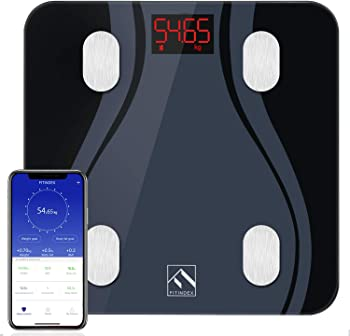 FITINDEX Smart Bluetooth Body Fat Scale with Upgraded App