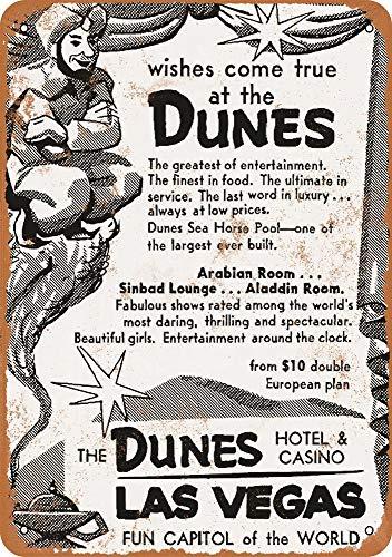 Vintage Las Vegas Casino - Tamengi 1957 Dunes Hotel & Casino Las Vegas Vintage Look 12