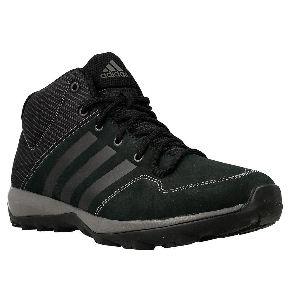 Adidas Daroga Plus Mid Lea cschwarz Granit Ngtmet