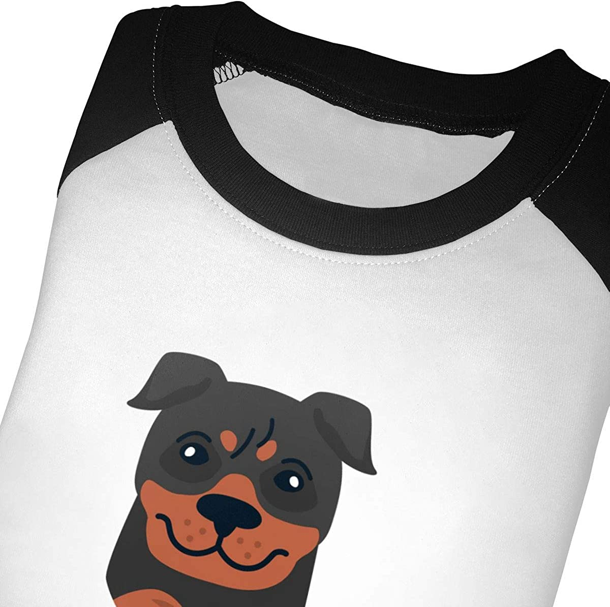 Kids Jersey Raglan T-Shirt Children 3//4 Sleeve Baseball Shirt Top