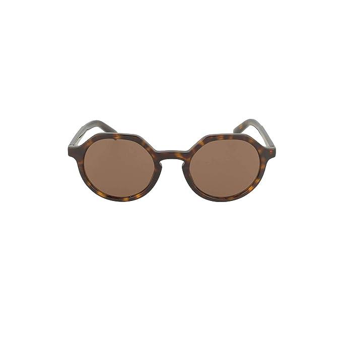 Dolce & Gabbana 0DG4353 Gafas de sol, Havana, 50 para Hombre ...
