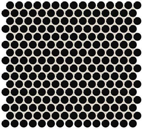 Dal-Tile 11PNYRDMS1P -RR14 Retro Rounds Tile, 1