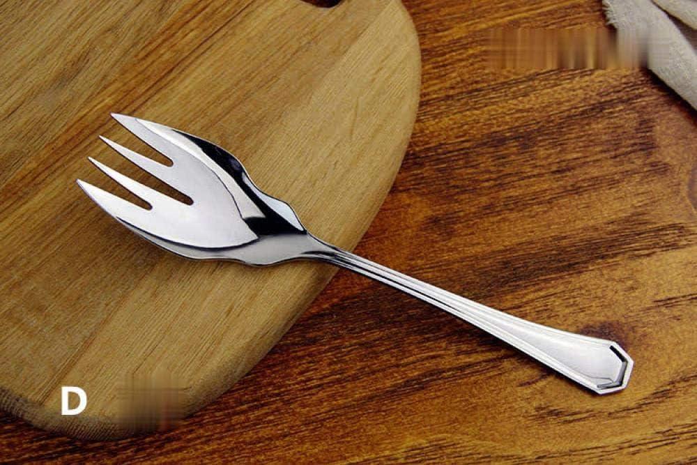 Cucchiai da portata in acciaio inox 304 acciaio inox lucidato lavabile in lavastoviglie Sezione B 22 cm ispessimento