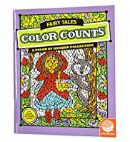 "MindWare - Color Counts Fairy Tales - 12 Unique Puzzles with Up to 10 Color Directions - Teaches Creativity and Fosters Imagination - Includes 10"" x 15"" Fold-Out Designs"