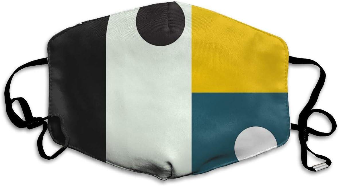 Máscara bucal Bauhaus Age Mascarilla Sanitaria para Mantener el Calor en frío, protección contra Polvo, gérmenes, alergias, Humo, contaminación, Cenizas, Polen para
