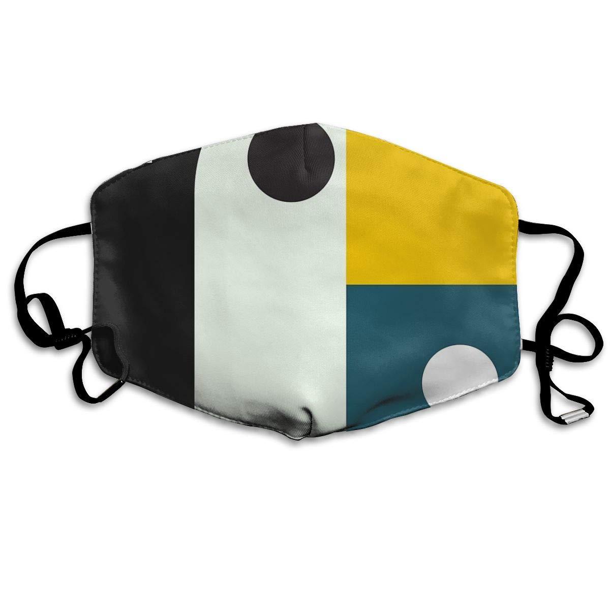 Máscara de Boca Bauhaus Age Mascarilla Sanitaria para Mantener el Calor en frío, protección contra el Polvo y el Humo para Hombres, Mujeres y Adolescentes