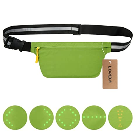 Lixada Bicycle Bag Usb Reflective Vest With Led Turn Signal Light Remote Control Sport Safety Bag Gear For Cycling Jogging Convenience Goods Bicycle Accessories